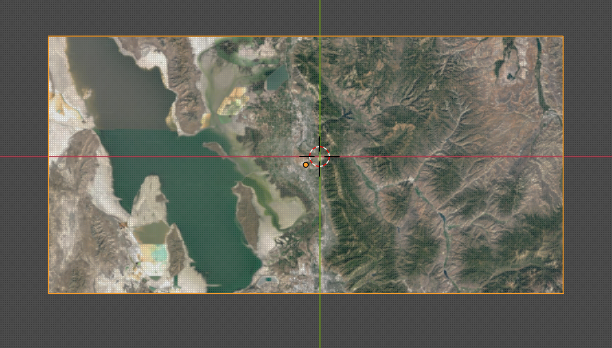 Basemap As a Reference Image